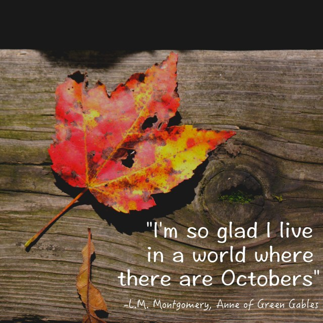 October love from one of my favorite books