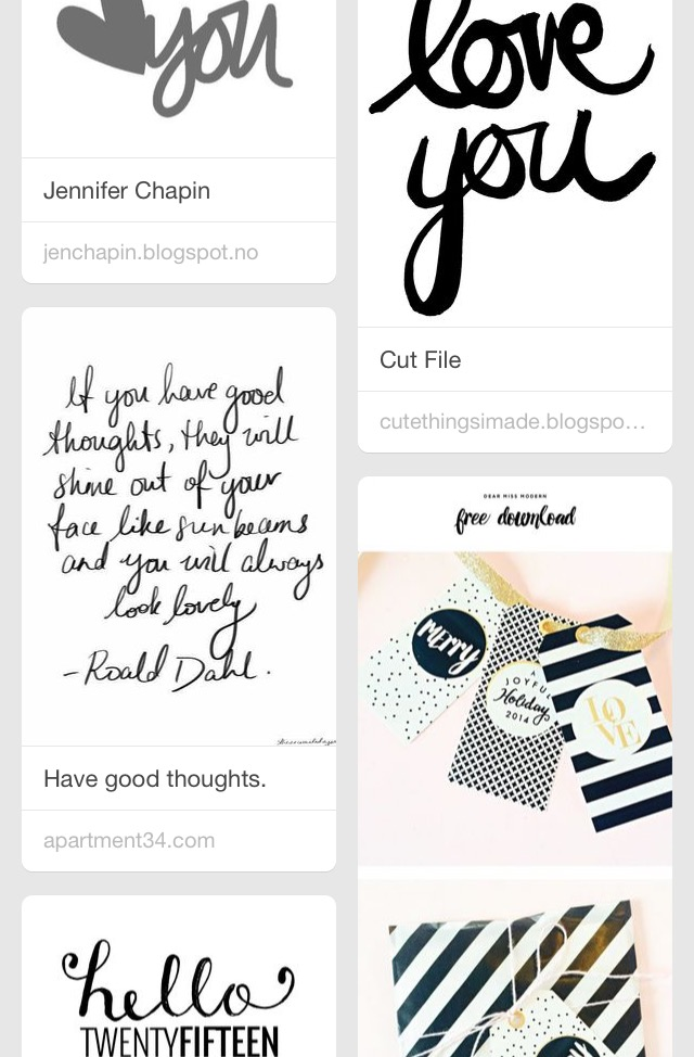 JulieGagen | Free Printables and Great Quotes for Memory Keepers Pinterest Board
