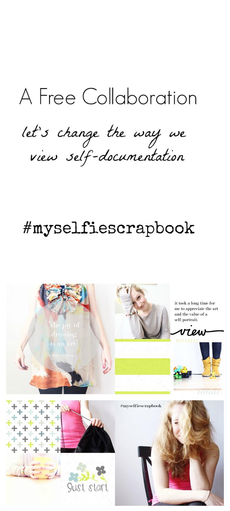 My selfie scrapbook Intro