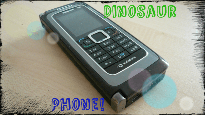 Ancient Dinosaur Nokia Phone