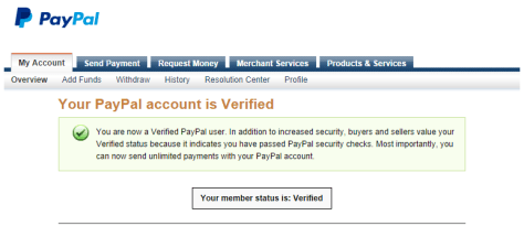 Once kids have access to a paypal account, they can begin to request payment for services at their parents' discretion.