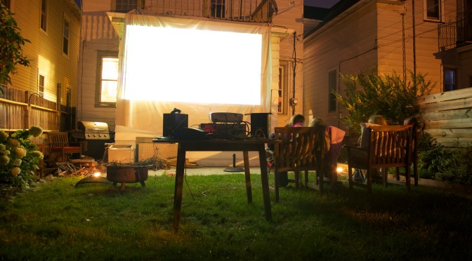 Method 31: How Kids Can Set Up an Outdoor Movie Theater for Money