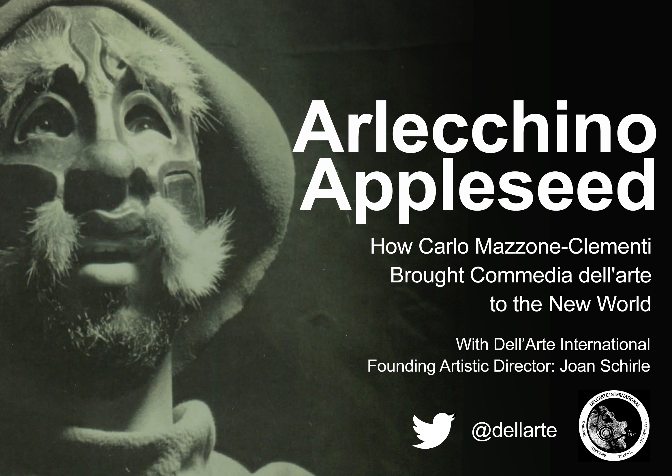 Commedia Dell'arte Word Meaning Arlecchino Appleseed How Carlo Mazzone Clementi Brought Commedia