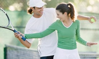 Couple-Playing-Tennis