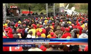 President Jacob Zuma Addresses Workers' On Workers' Day