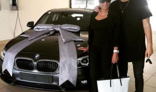 SA Rapper AKA Gifts His Mum A Brand New BMW Car