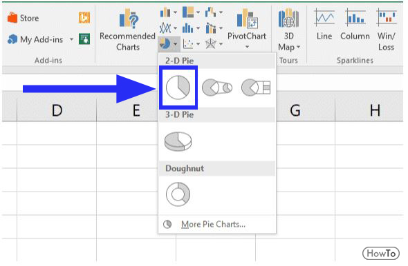 8 Steps to Create a Pie Chart in Excel Easy Steps - Howto