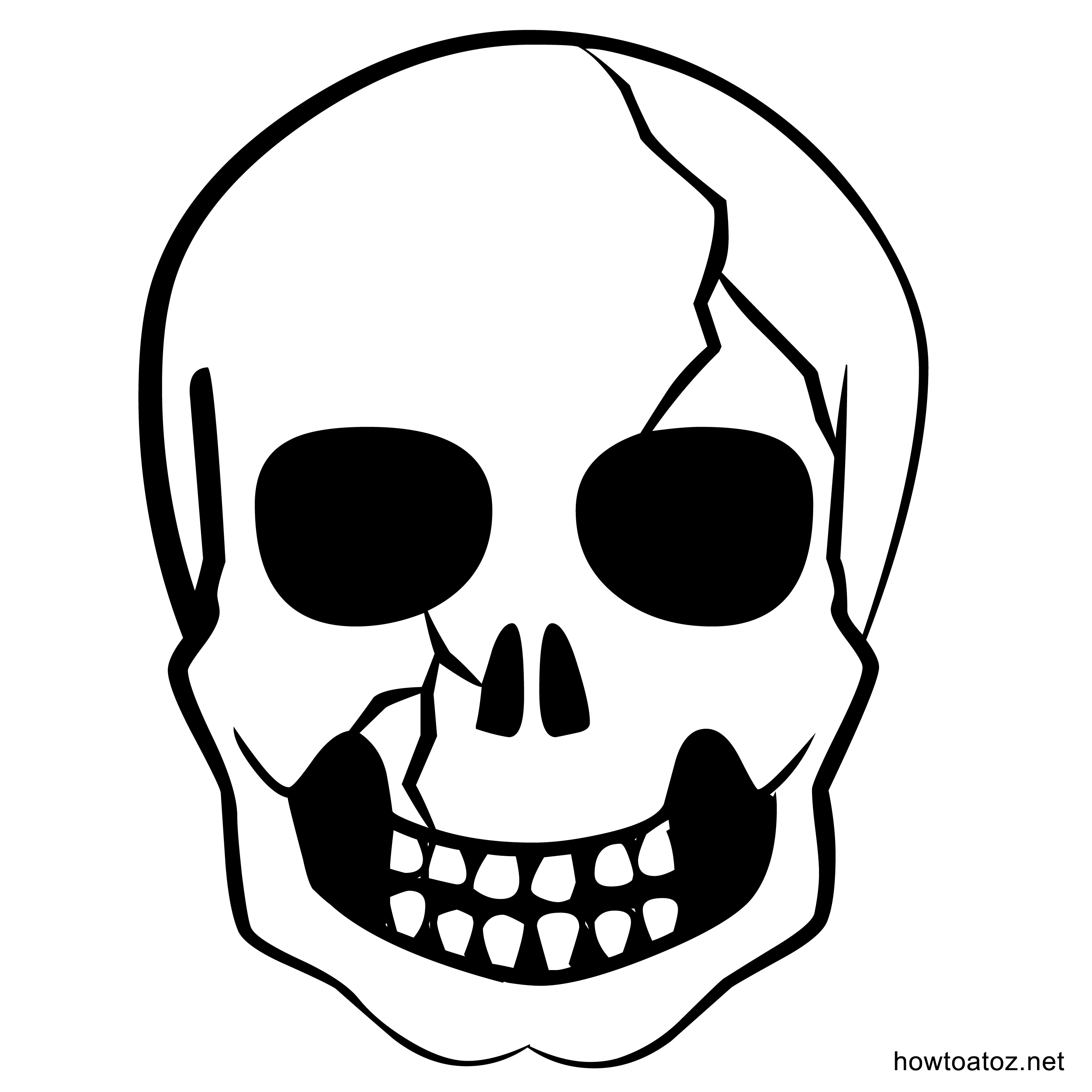 printable halloween decorations template part 37 get scary