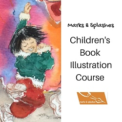 Marks & Splashes children's book illustration course