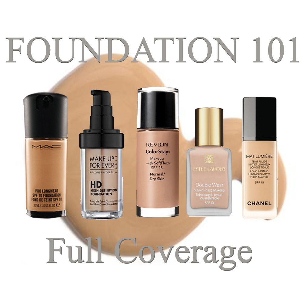 Full coverage foundation review for all skin types - Best kind of foundation pict ...