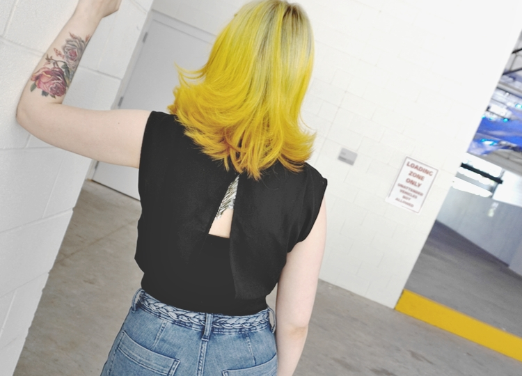 TOBI black top - How to be fancy