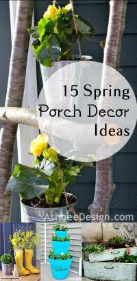 15 Spring Porch Decor Ideas - How To Build It