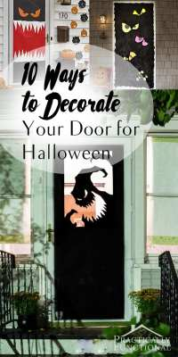 10 Halloween Door Decor Ideas - How To Build It
