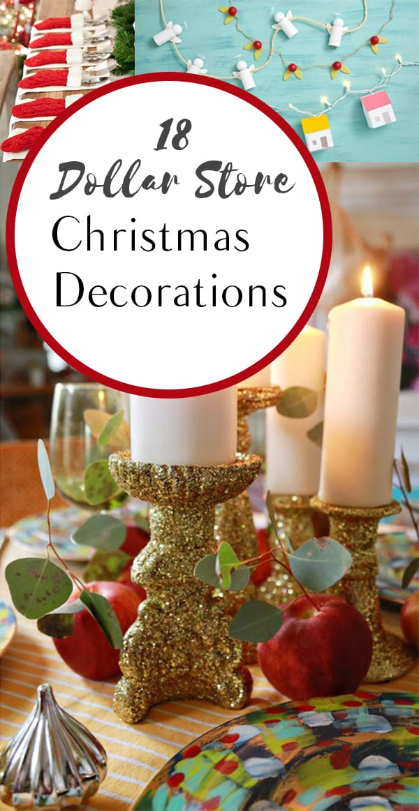 18 Dollar Store Christmas Decorations - How To Build It - how to store christmas decorations