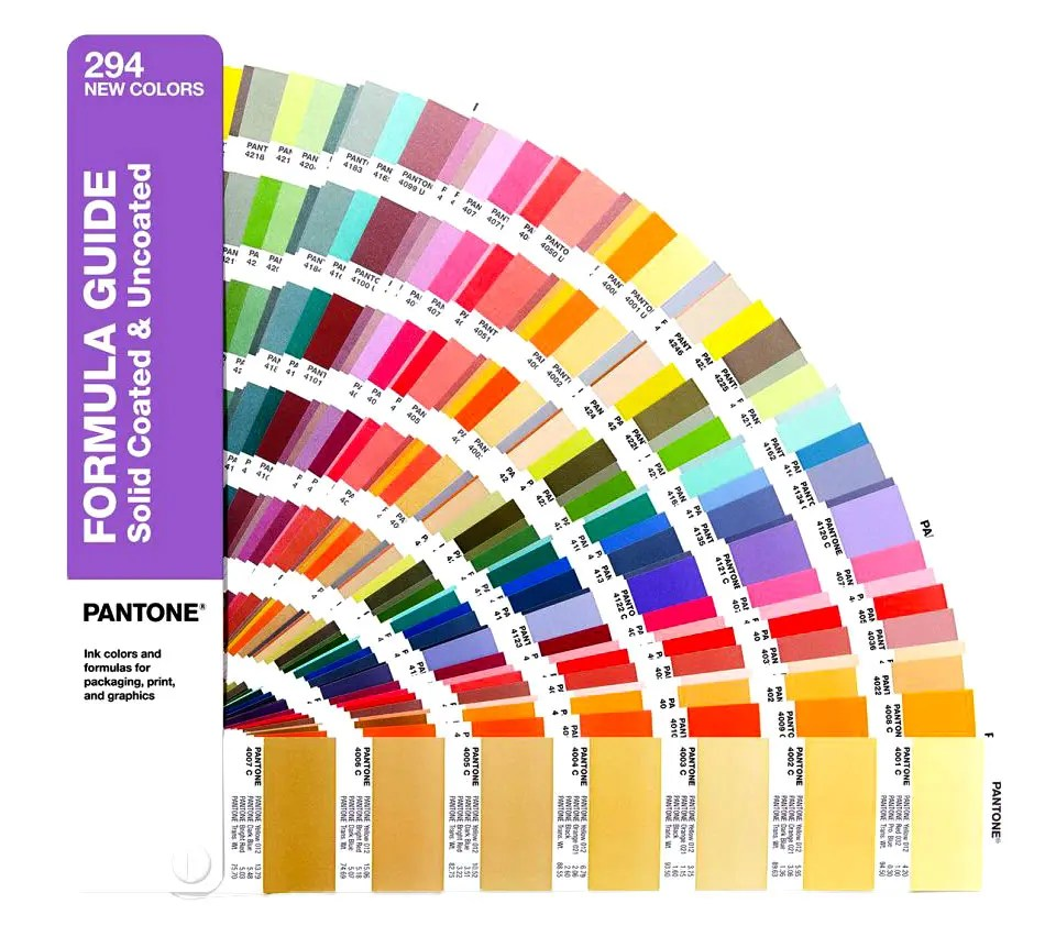 How to Get Consistent Color In Packaging - sample pms color chart