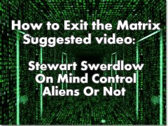 Video: Stewart Swerdlow On Mind Control -Aliens Or Not