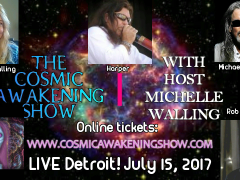 Cosmic Awakening Show LIVE Detroit With Harper