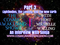 Lightbodies, The Landing, And New Earth With Sonja Part 3
