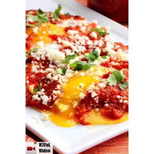 Medium Crop Of Easy Huevos Rancheros Recipe