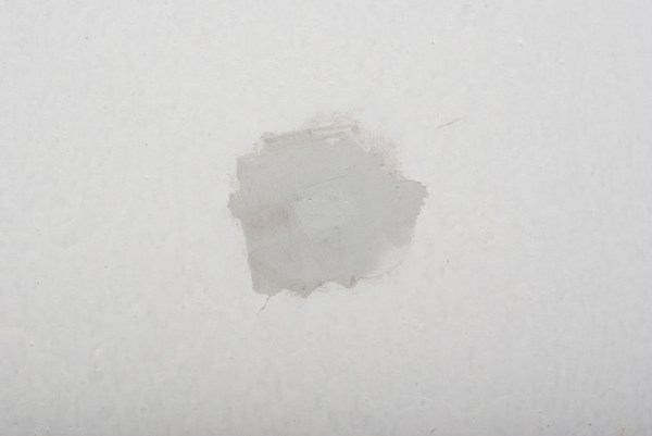 Fixing the dent in drywall