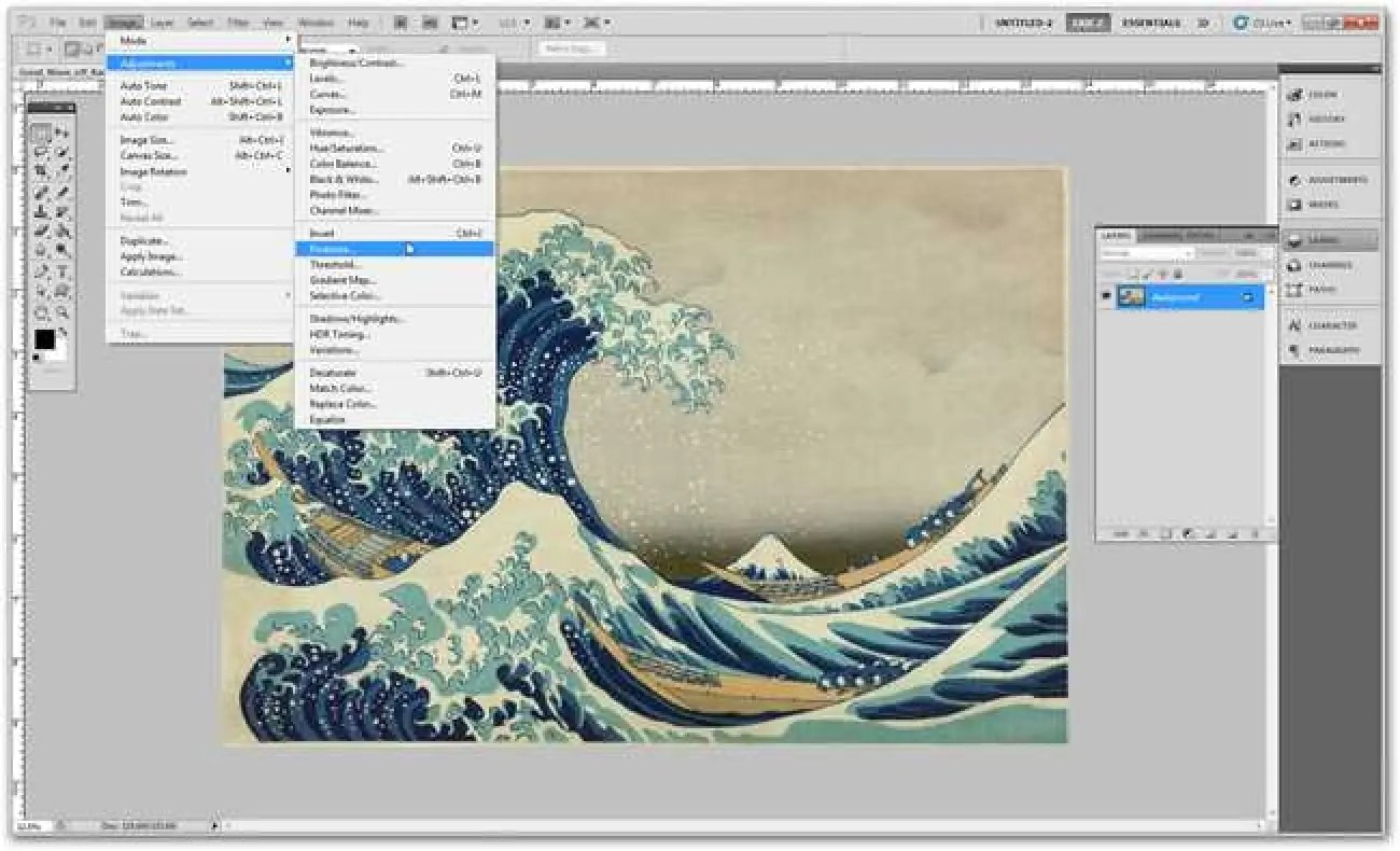 Learning Photoshop The How To Geek Guide To Learning Photoshop Part 4 Basic Menus