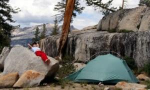 camping adventure yosemite