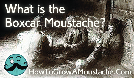 What is the Boxcar Moustache?