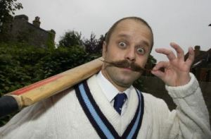 What is The English Moustache style?