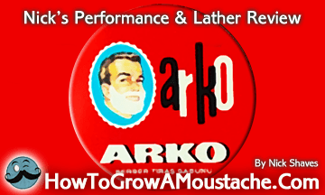 How to lather Arco Shaving Soap in Scuttle
