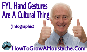 FYI, Hand Gestures Are A Cultural Thing