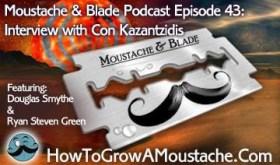 moustache and blade, Douglas SMythe, Ryan Steven Green