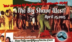 Wet shaving festival, convention, the great shave, the big shave west, california,april 25