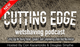 PAA, Crown King, Podcast, traditional shaving