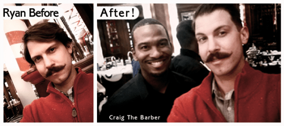 Moustache & Blade Podcast Episode 10:  Interview with Craig The Barber