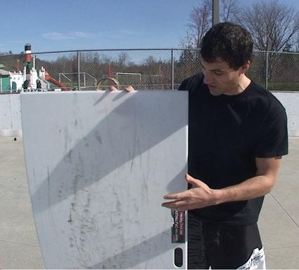 Hockey Shooting Board
