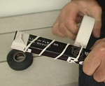 how to tape hockey stick