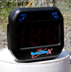 hockey radar gun speedtrac
