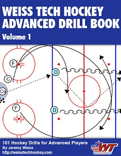 advanced hockey drills book