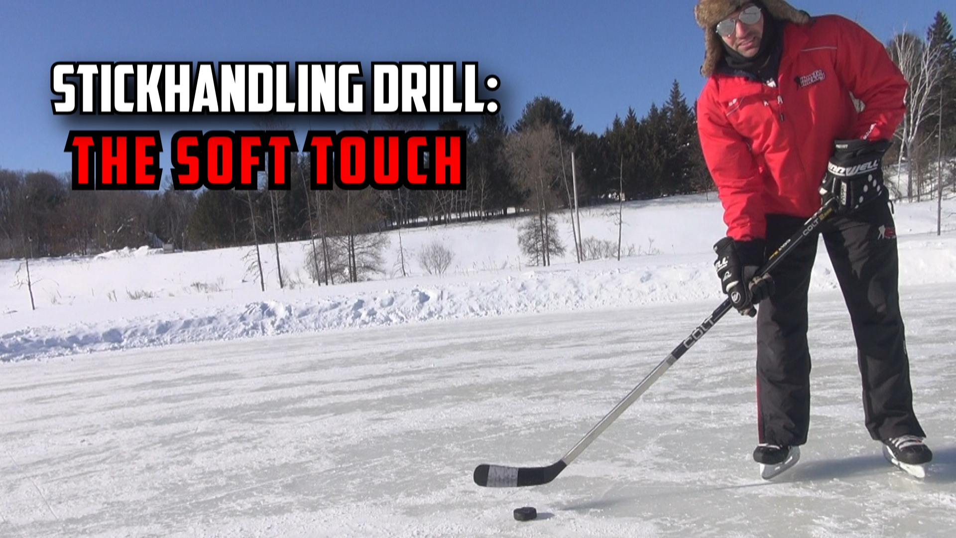 The Soft Touch Stickhandling Drill