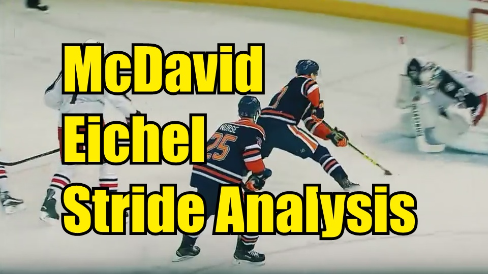 Connor McDavid and Jack Eichel Skating Stride Analyzed
