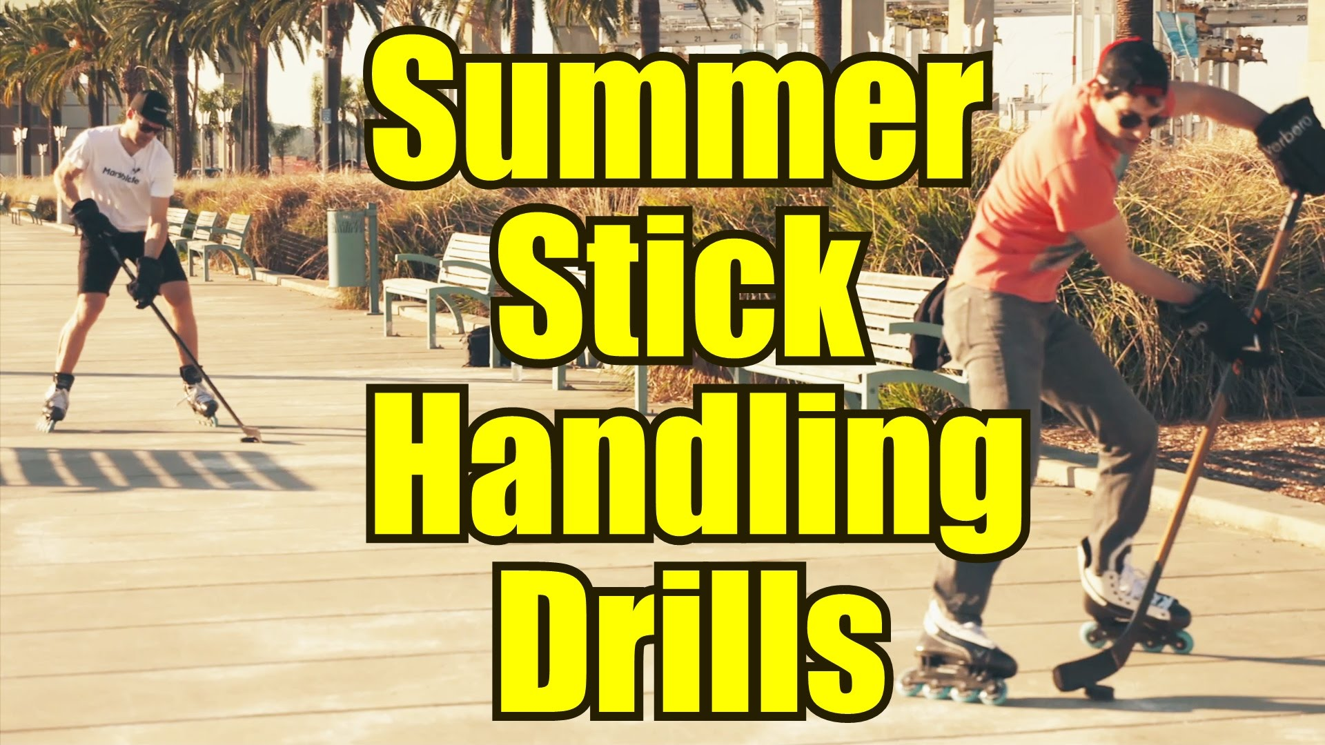 Summer Stickhandling Drills with Marsblade