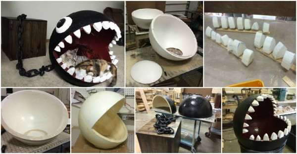 Exterieur Welcome Super Mario Chain Chomp Monster Cat Bed Sold For $1,100