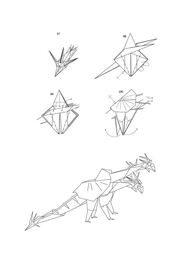 complex origami dragon instructions how to make origami origami