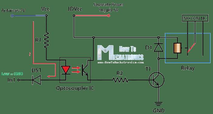 5 pin relay wiring diagram ac