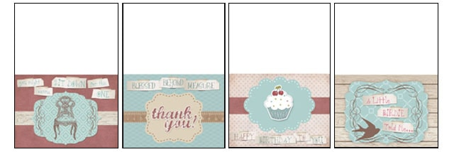 Vintage Handmade Greeting Cards {FREE Printable} - How to Nest for Less™