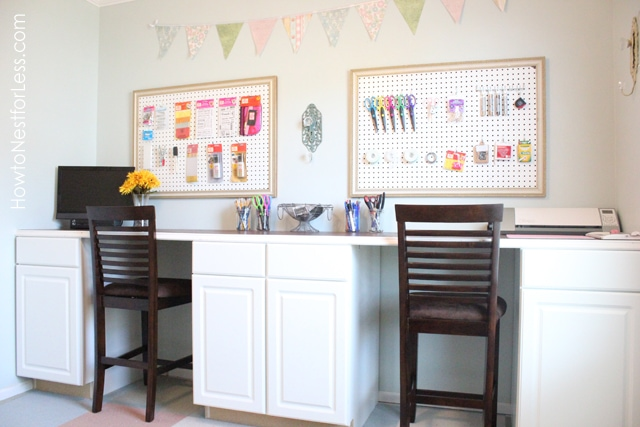 Craftaholics Anonymousr Craft Room Tour With How To Nest