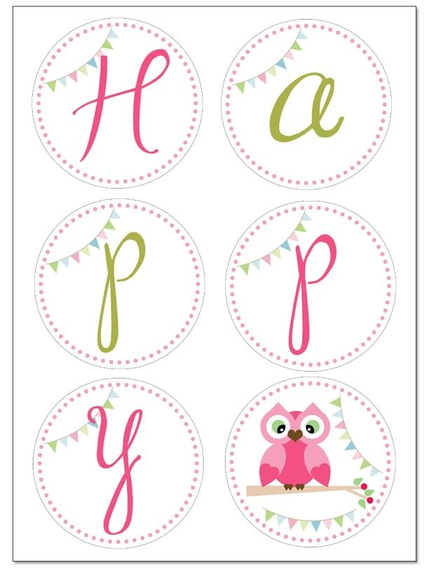 free printable happy birthday banners - Josemulinohouse - free printable happy birthday banner templates