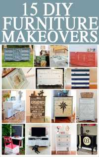 Get Inspired: DIY Furniture Makeovers - How to Nest for Less