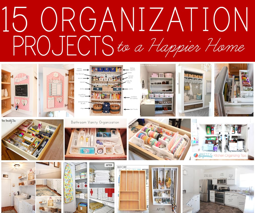 Home Organization 15 Home Organization Projects To A Happier Home How To Nest For