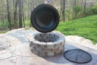 How to Build a Patio Firepit - How to Nest for Less